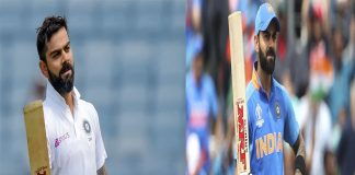A MASSIVE SCORE OF 40 INTERNATIONAL CENTURIES AS A CAPTAIN BY VIRAT KOHLI IN THE INDIA vs. SOUTH AFRICA MATCH